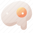 chicken, drink, egg, food, omelet icon
