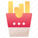 drink, fastfood, food, french, fries, potato icon