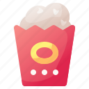 cinema, corn, drink, food, popcorn icon