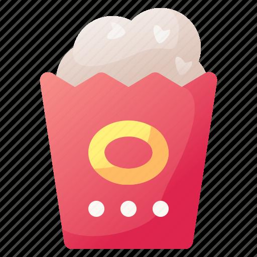 cinema, corn, drink, food, popcorn icon