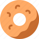 doughnout, drink, food, hungry, meal, tummy icon