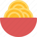 drink, food, hungry, meal, spaghetti, tummy icon