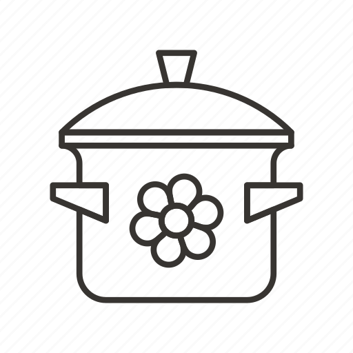 Cooking, frying, kitchen, pan, pot icon - Download on Iconfinder