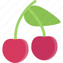 cherry, dessert, food, fruit, sweet