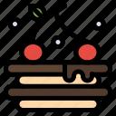 drink, food, tart icon