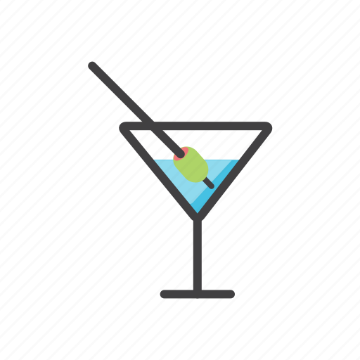 alcohol, cocktail, drink, summer icon