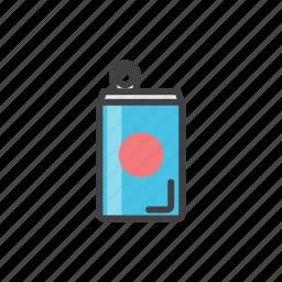 aluminium, can, cold, juce icon