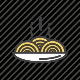 italian, pasta, sauce, spageti icon