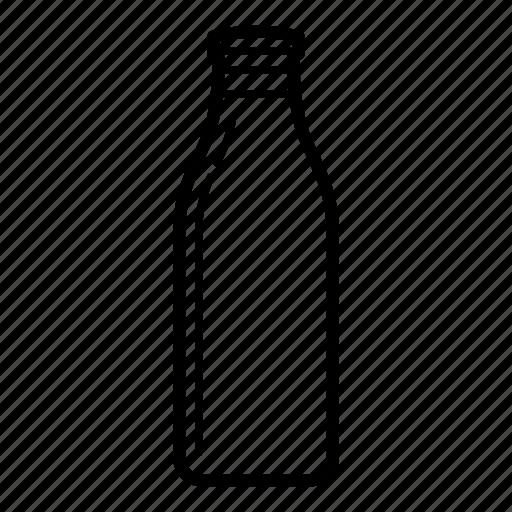 bottle, dairy, dairy cow, drink, milk, milk bottle icon