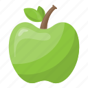 apple, fruit, health, healthy diet, healthy food icon