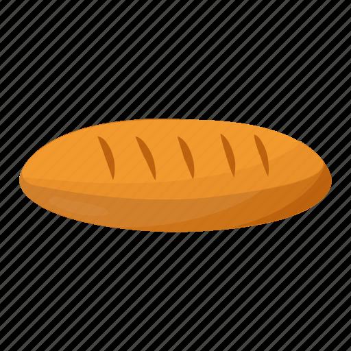 baguette, bread, breakfast, french bread, loaf of baguette icon