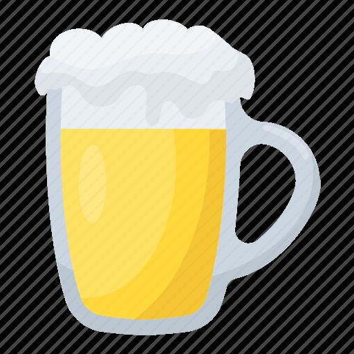 beer mug, beer pint, beer stein, beer tankard, pint glass icon