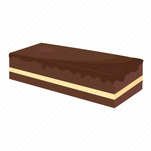 chocolate cake, chocolate pastry cake, frosted cake, pastry, pastry cake icon