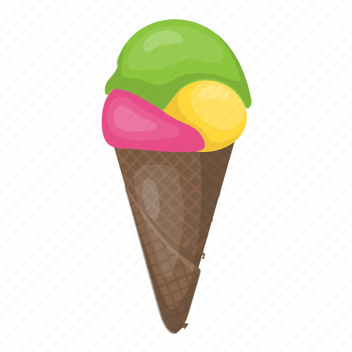 Dessert, ice cone, ice cream, ice cream cone, sweet icon - Download on Iconfinder