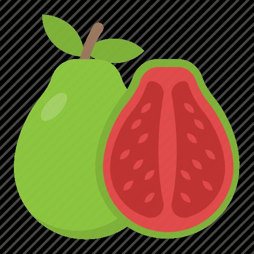 food, fruit, guava, half guava, tropical fruit icon