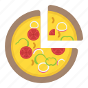 fast food, food, italian food, junk food, pizza icon