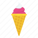 cone, dessert, ice cone, ice cream, sweet icon