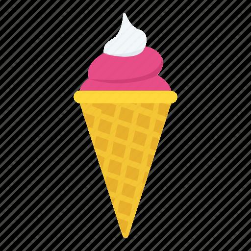 cone, dessert, ice cone, ice cream, sweet icon
