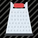 cheese grater, grater, kitchen utensil, kitchenware, shredder icon