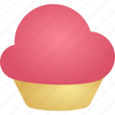 breakfast, cake, cupcake, dinner, food icon