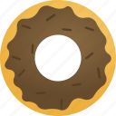 bakery, dinner, donut, dunkin, fastfood, food icon