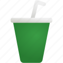 cup, dinner, drink, food, softdrink, water icon
