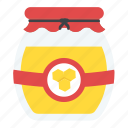 healthy diet, healthy food, honey, honey bottle, honey jar icon