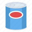 airtight container, canned food, canning, preserving food, tinned food icon