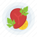 beefsteak, food, meat, steak, steak dish icon