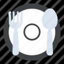 dining, dinnerware, food serving, restaurant, tableware icon