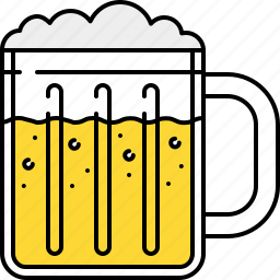 alcohol, bar, beer, drink, glass icon