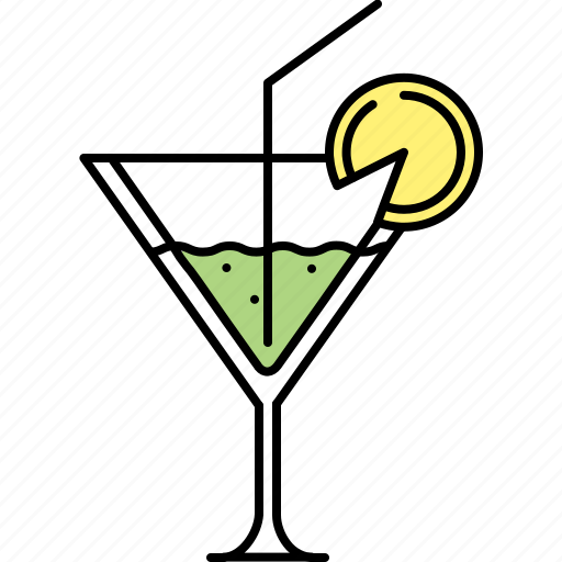 alcohol, cocktail, drink, glass, martini icon