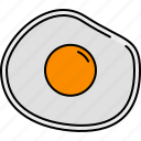 breakfast, egg, food