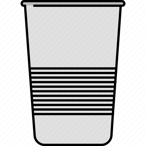 carrier, cup, drink, hot, plastic icon