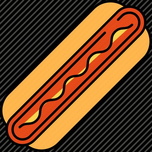 beef, fast, food, hotdog, junk, sausage icon