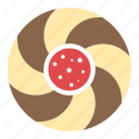 bakery food, baking, biscuit, cookie, snack icon