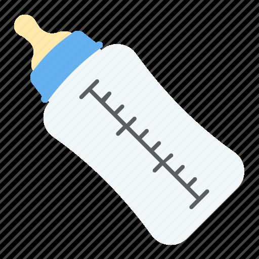 baby bottle, baby milk bottle, feeding bottle, infant nutrition, kids accessory icon
