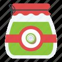 canning equipment, fruit preserves, fruit storage, preparations of fruits, vegetable preserves icon