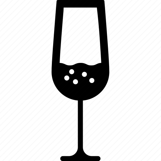 alcohol, celebrate, champagne, drink, glass, wine icon