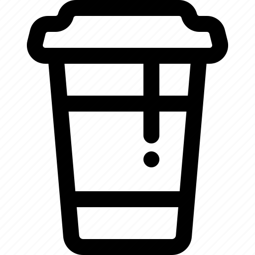 coffee, coffee cup, drink, paper cup, take out, to go icon