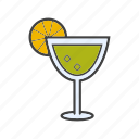 alcohol, aperitif, cocktail, drink, margarita icon