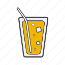 cocktail, cold, drink, glass, ice, soda, water icon