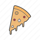 bakery, pie, pizza, slice icon