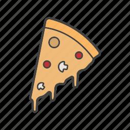 bakery, pie, pizza, slice icon