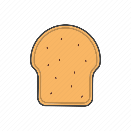bread, sandwich, slice, toast icon