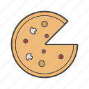 cake, gateau, pie, pizza, tart icon