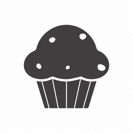 brownie, cake, cupcake, dessert, muffin, pie icon