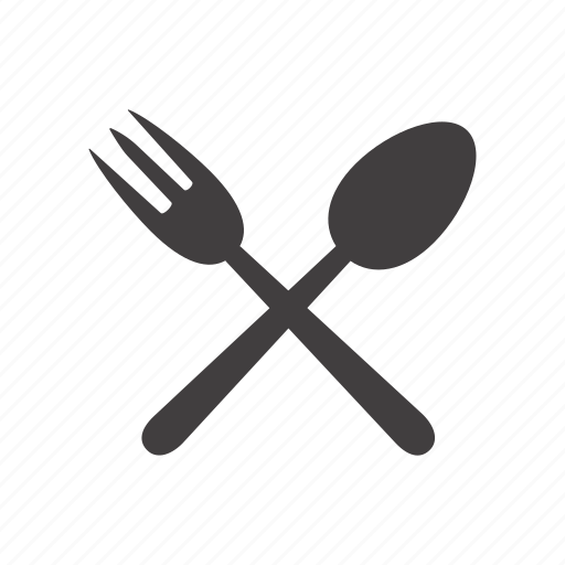 cutlery, fork, prong, spoon icon