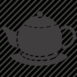 kettle, pot, tea, teakettle, teapot icon