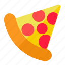 italian food, pizza, restaurant, slice icon